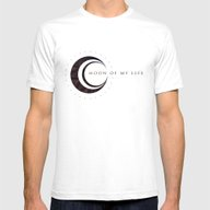 Moon Of My Life Mens Fitted Tee White SMALL