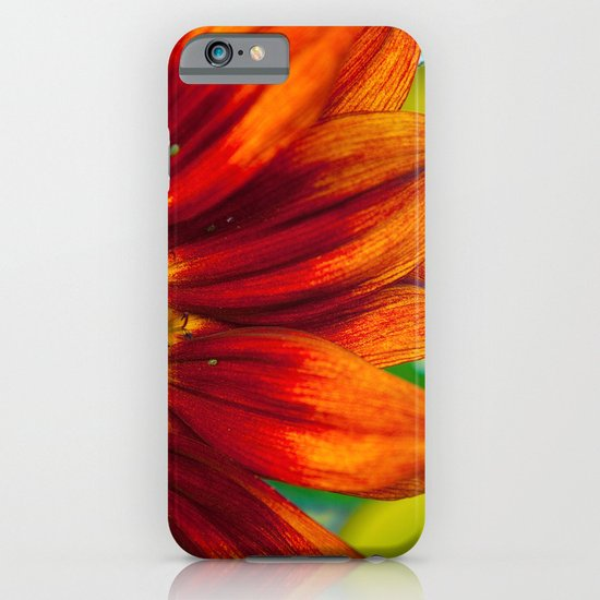 Red Sunflower iPhone & iPod Case