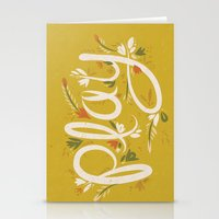 Play - Yellow Stationery Cards