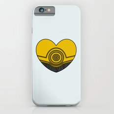 C3PO Character Heart Slim Case iPhone 6s