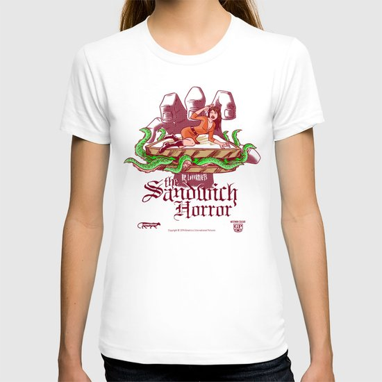 H.P. LoveKRAFT's  The Sandwich Horror T-shirt