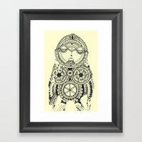 A Wise Old Owl Sat On An… Framed Art Print