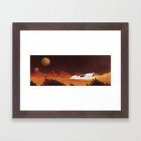 Mars, Off Road Framed Art Print