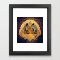 Try Again Tree-angles Framed Art Print