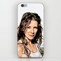 Kate From LOST (Evangeli… iPhone & iPod Skin