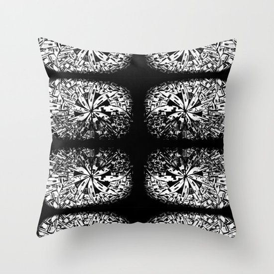 Moonglasses Throw Pillow