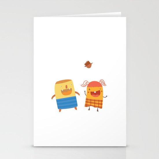 YOU MAKE ME SMILE Stationery Card
