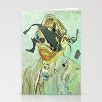 In Vincent´s Face · 3 Stationery Cards
