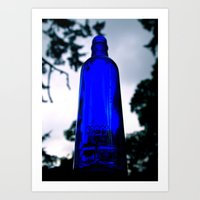 Art Print featuring Blue skyy by Vorona Photography