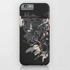 Octopus Wrestling with a Robot iPhone 6s Slim Case