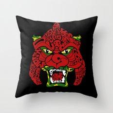 Battle-Cat Throw Pillow