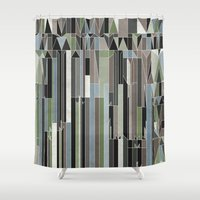 Penthouses and Parks (3) Shower Curtain