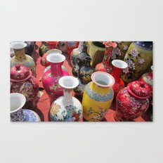 Chinese Pots Canvas Print