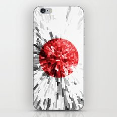 Japan Flag - Extrude iPhone & iPod Skin
