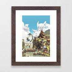 Viking Life Framed Art Print