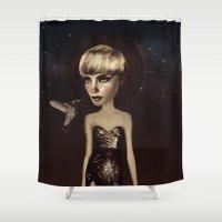dnzsea1 Shower Curtain