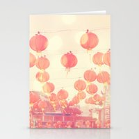 Chinatown. Los Angeles photograph Stationery Cards
