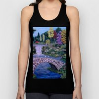 My Garden - By Ave Hurle… Unisex Tank Top