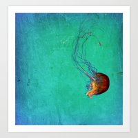 Deep Sea Ballet Art Print