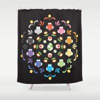 Yoshi Prism Shower Curtain