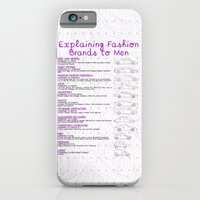 iPhone & iPod Case featuring Explaining Fashion To Men by Salmanorguk