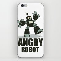 Angry Robot iPhone & iPod Skin