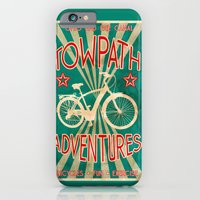 iPhone & iPod Case featuring TOWPATH ADVENTURES by Bili Kribbs