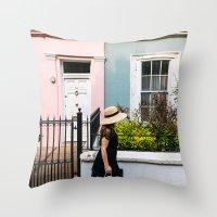 London - Notting Hill Throw Pillow