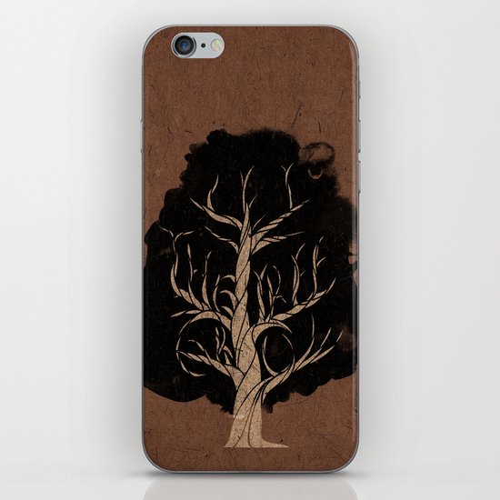 Let The Tree Grow iPhone & iPod Skin