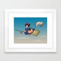 Magical Deliveries Framed Art Print