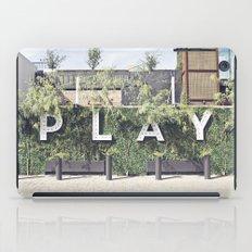 P L A Y  iPad Case
