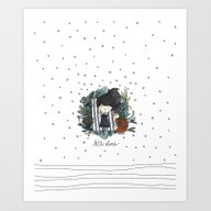 Art Print featuring Little Stars by Erase Una Be