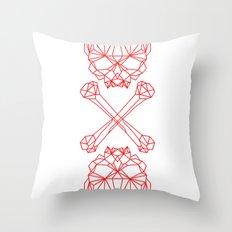 RedSkull Throw Pillow