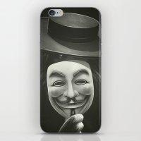 Anonymous II iPhone & iPod Skin