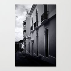 Dark day in San Juan Canvas Print