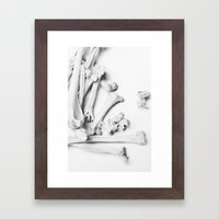 Bones  Framed Art Print