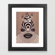 f a c t o r y  Framed Art Print
