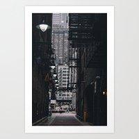 Loop Alley Art Print