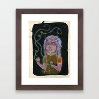 MAGIC HANDS Framed Art Print