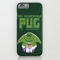 iPhone & iPod Case featuring The Incredible Pug by Fuacka