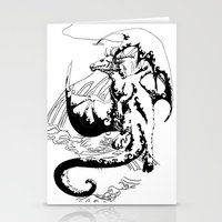 A Dragon from your Subconscious Mind #12 Stationery Cards
