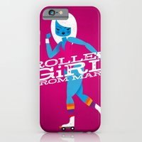 Roller Girl From Mars iPhone 6 Slim Case