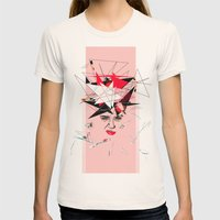 In My Eyes Womens Fitted Tee Natural SMALL