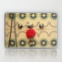 the vintage bathroom Laptop & iPad Skin