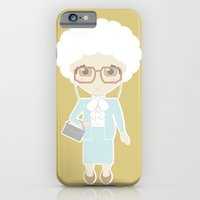 iPhone & iPod Case featuring Golden Girls - Sophia by Ricky Kwong
