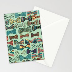 Bow tiesss  Stationery Cards