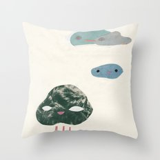 cloudies Throw Pillow