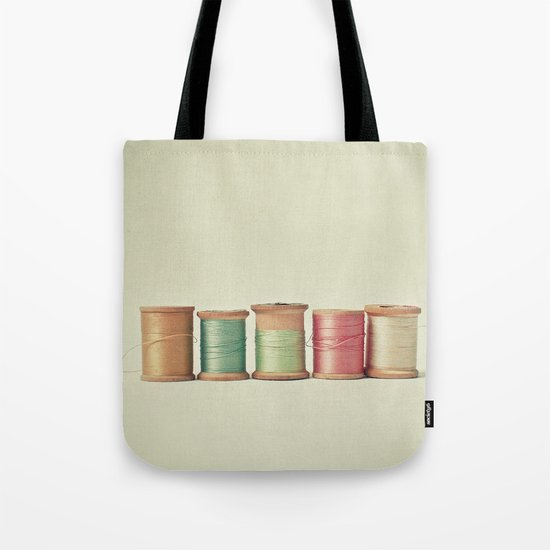 Five in a Row Tote Bag