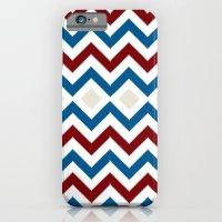 Nautical Chevron iPhone 6 Slim Case
