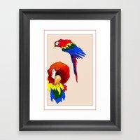 Macaws Framed Art Print